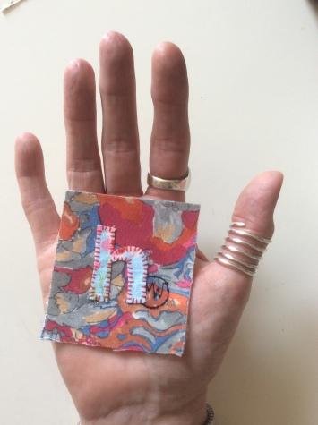 Improvisational textile art